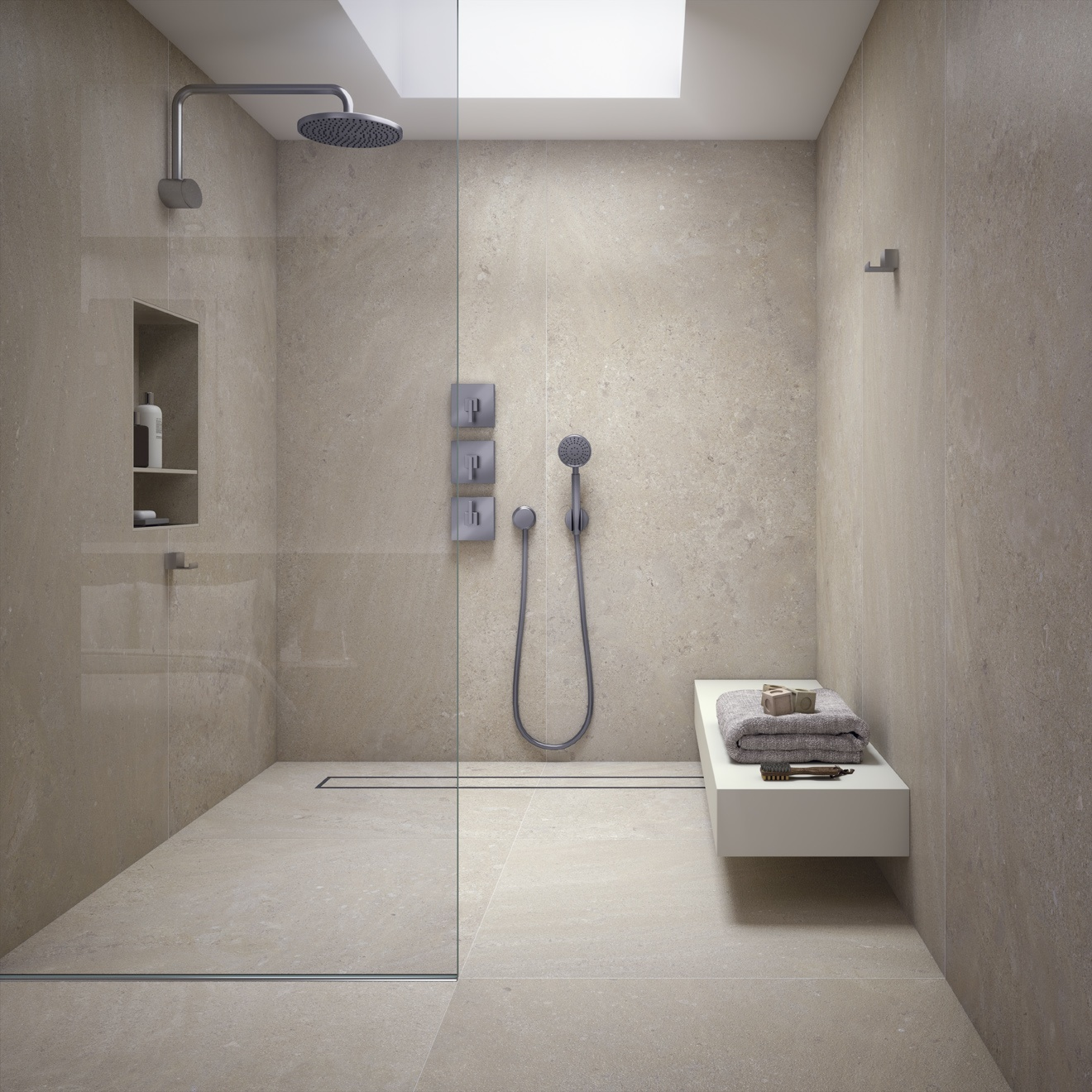 European ceramics designer italian tiles stone for Salle de bain grand carrelage